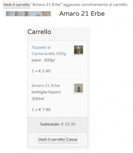 visualizza_carrello