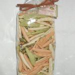 cicatelli tricolore, pasta tradizionale, tipica pugliese