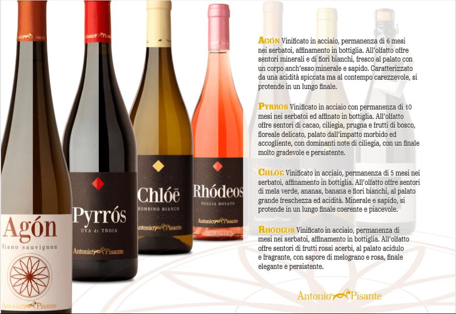 prodotti pugliesi - Cantina Antonio Pisante - Vini